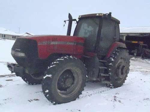Case-IH MX200 tractor