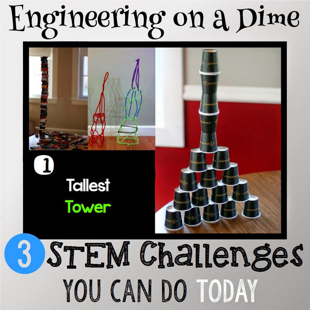 Best 25 High School Stem Activities Ideas On Pinterest: Engineering On A Dime: 3 STEM Challenges You Can Do Today