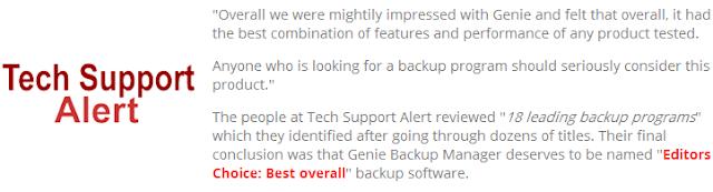 genie timeline testimonials techsupport alert