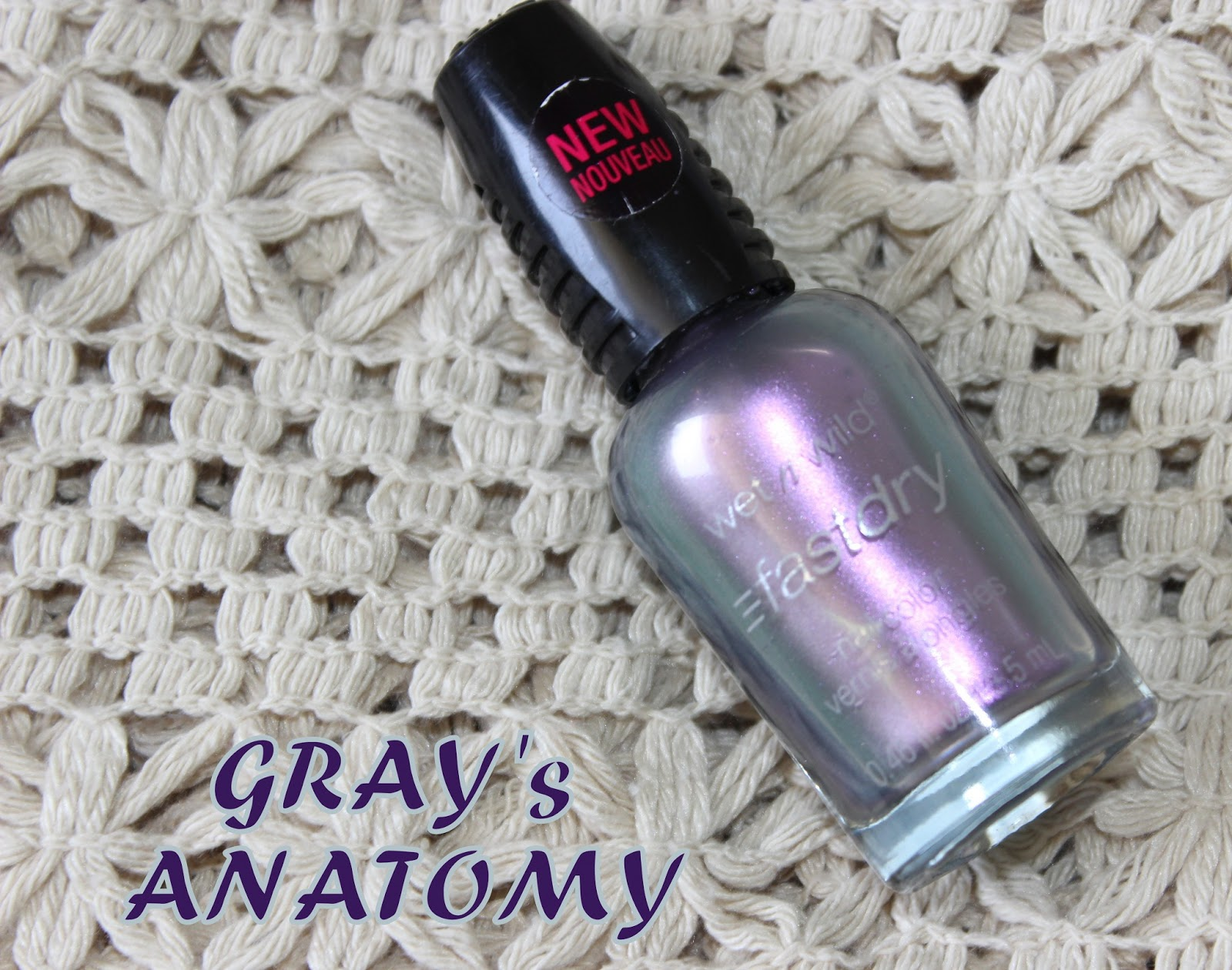 Wet N Wild Gray\'s Anatomy Nail Polish; Review & Swatches – Corals ...