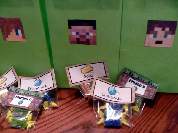 TREAT BAGS With Personalized Skins