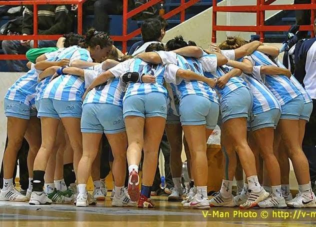 Lista de selección argentina femenina para ODESUR   Mundo Handball