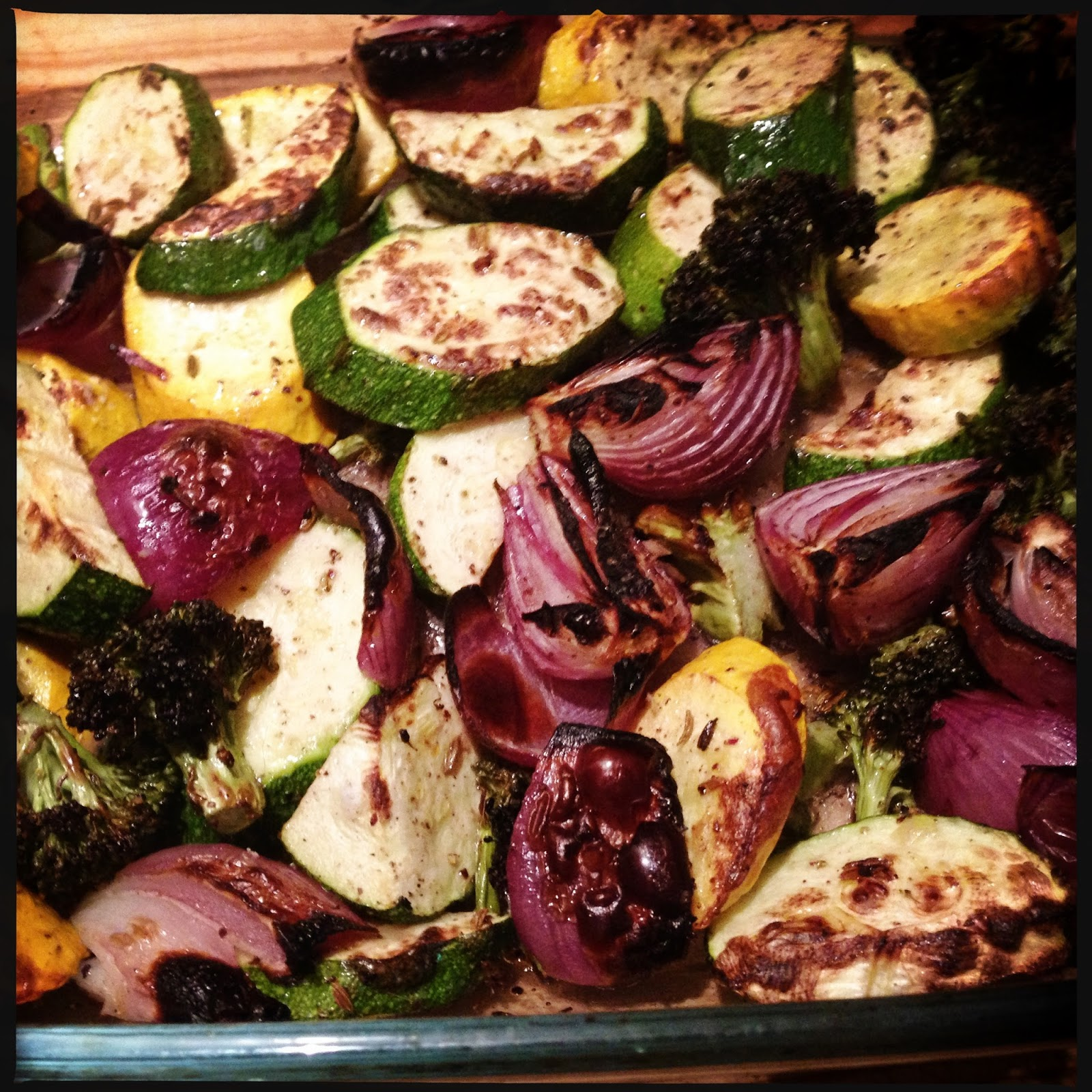 The Vicar Died Laughing: Julia's Roasted Vegetable Tart