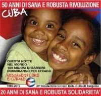 l'Associazione di Amicizia Italia - Cuba di Bergamo