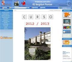Pagina Web del IES Bergidum Flavium