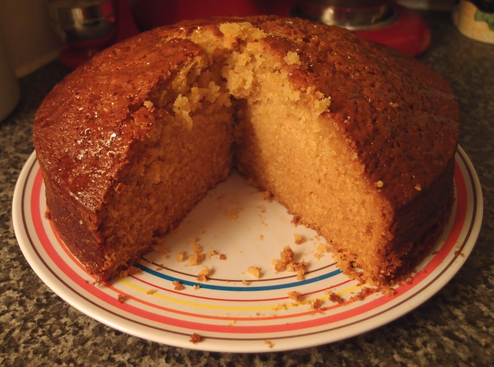 the caked crusader golden syrup cake