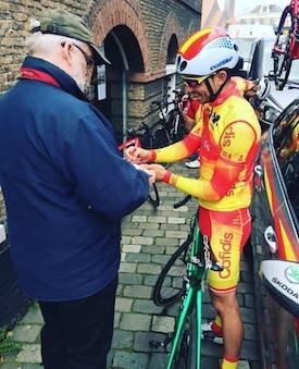 David González, con el mismo tiempo que el ganador del ZLM Tour