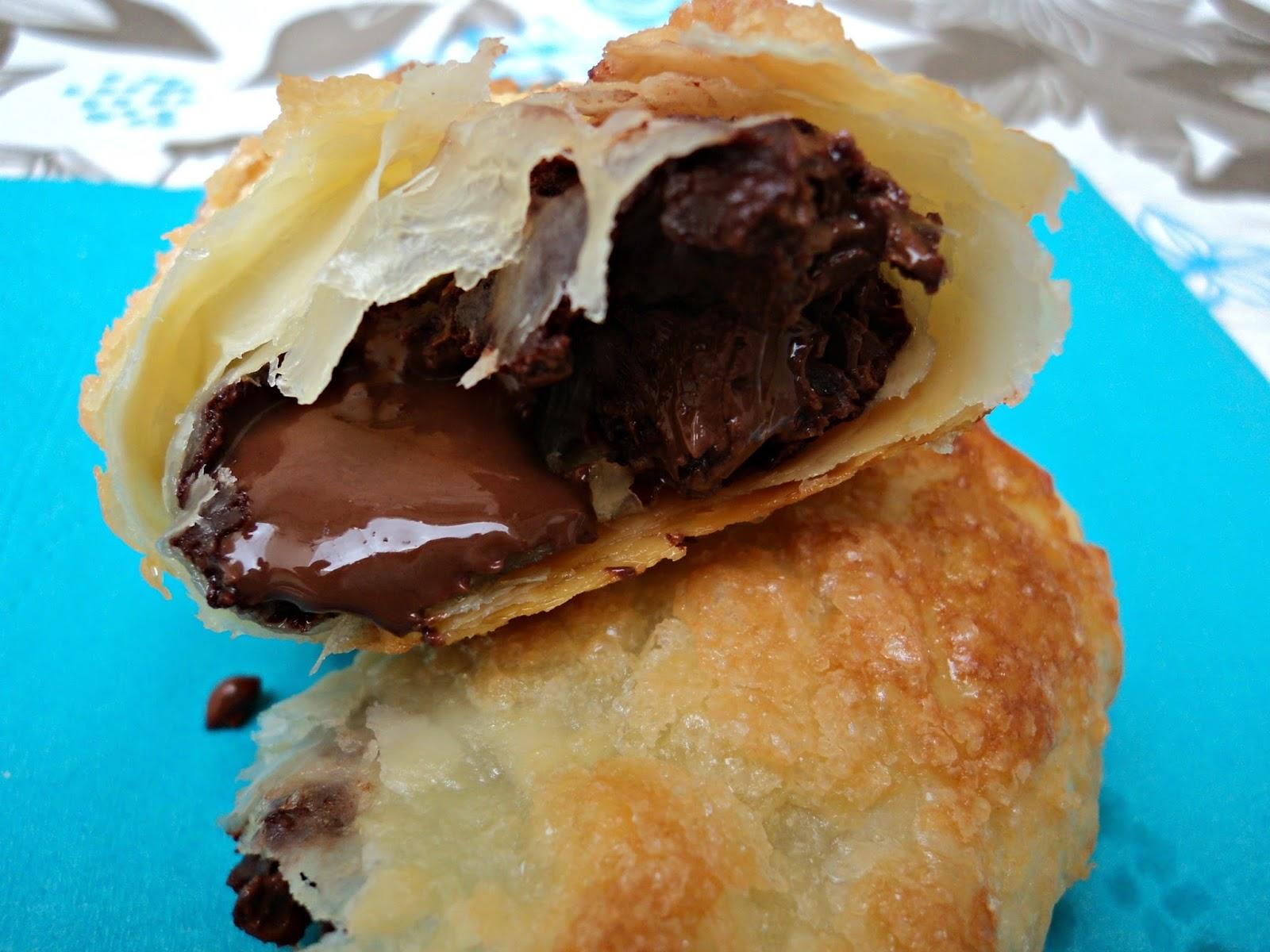 Napolitanas de chocolate receta casera