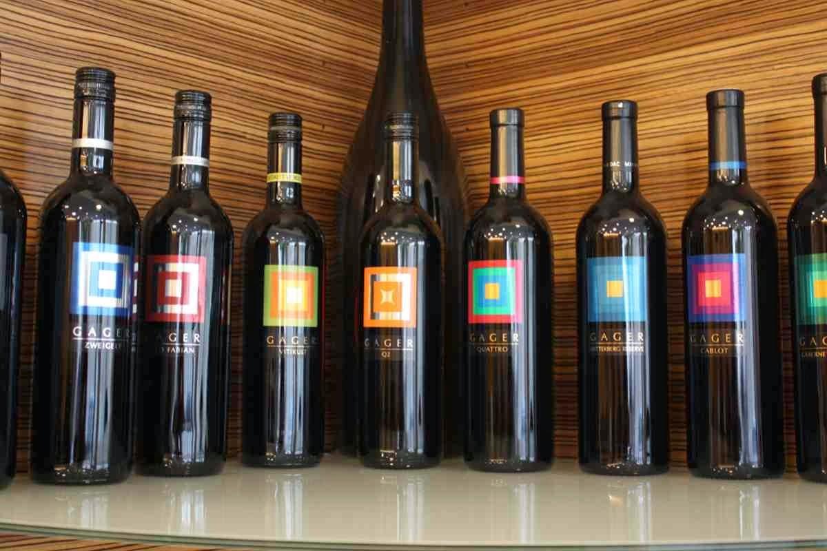 Die Weine aus dem Weingut Gager © Copyright Monika Fuchs, TravelWorldOnline