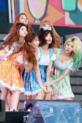 LABOUM Dream Concert 2015