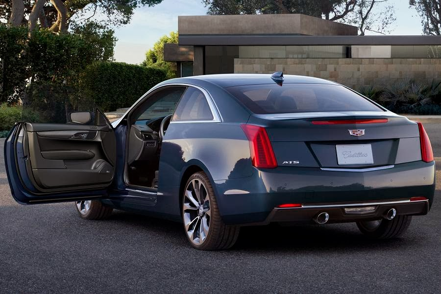 Cadillac ATS Coupe (2015) Rear Side