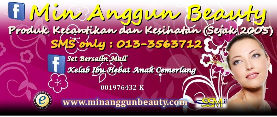 Min Anggun Beauty - Zaida 0133563712
