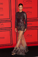 Adriana Lima at  2013 CFDA Fashion Awards red carpet