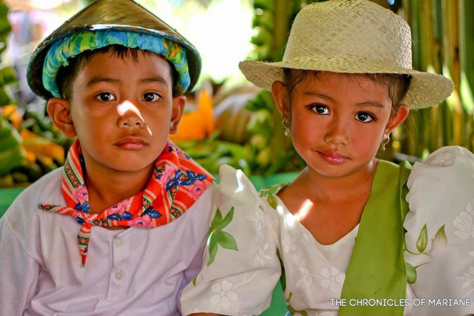 pahiyas festival filipino children