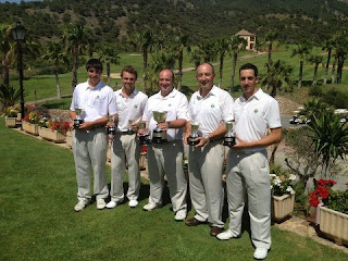 Andalucia Campeona Interterritorial de Pitch & Putt 2012