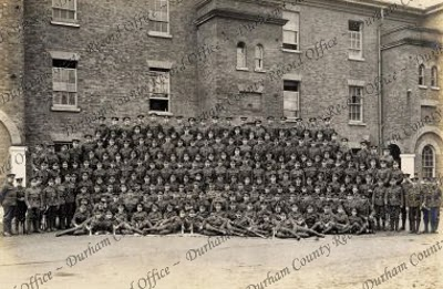 'A' Company, 20th Battalion, Durham Light Infantry, taken United Kingdom, [1916] (D/DLI 2/20/5(30))