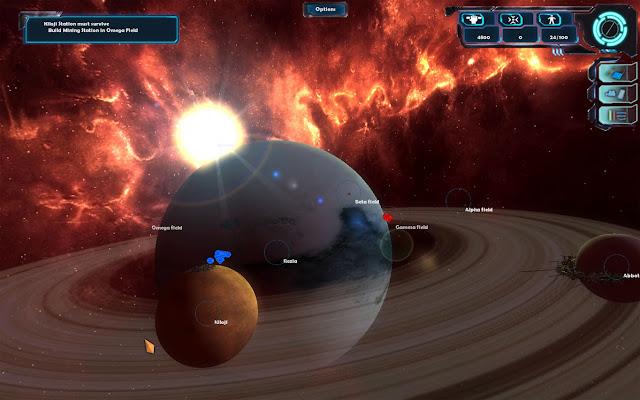 Capturas Geminis Wars PC Full 2012