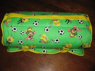 Spongebob nap mat roll