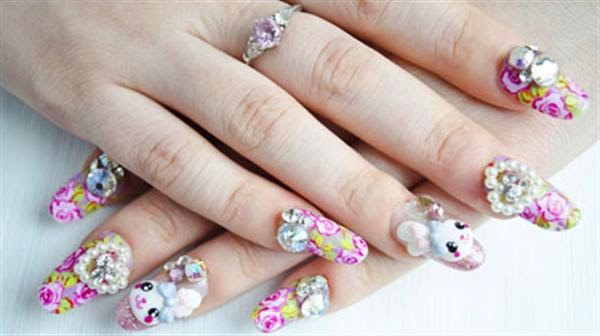 One Hundred Styles Japanese Nail Art Gallery