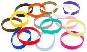 cheap rubber bracelets