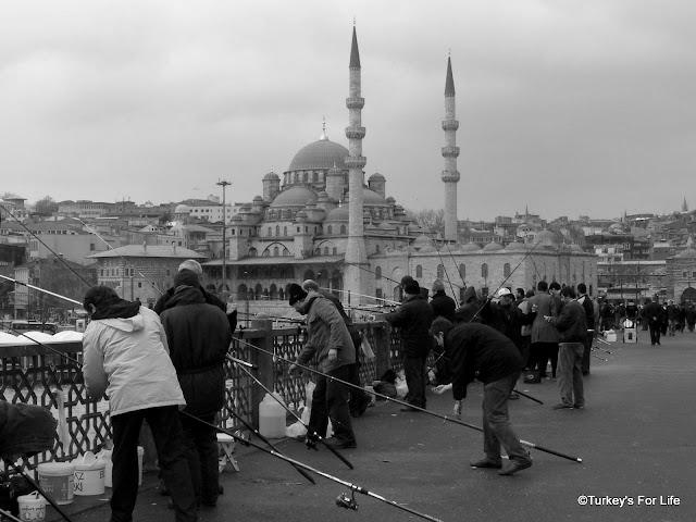 Yeni Camii & Galata Bridge, Istanbul