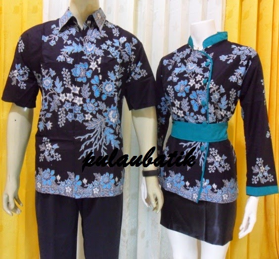 Foto Baju Batik Sepasang