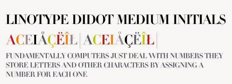 LINOTYPE DIDOT FREE FONT DOWNLOAD