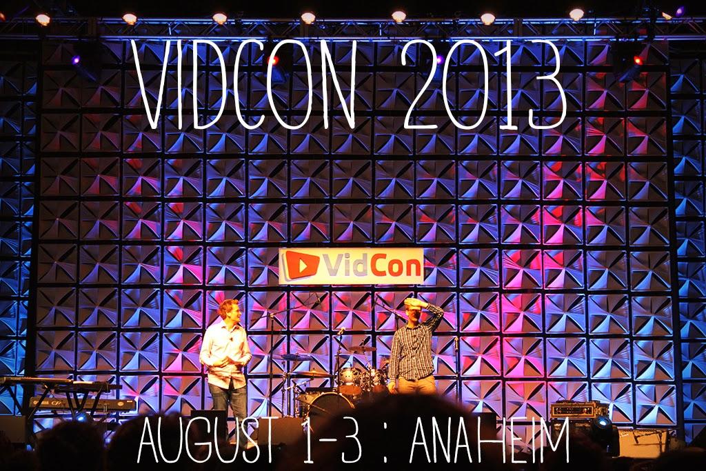 VidCon 2013 Hank Green John Green