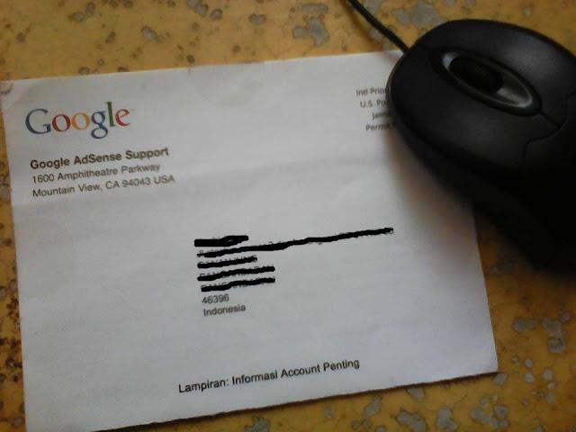 Berbagi pengalaman mendapat gaji dari Google Adsense
