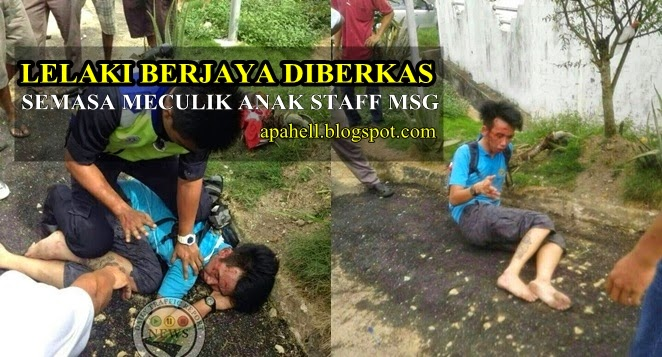 Lelaki Berjaya Diberkas Ketika Menculik Budak Perempuan di Pasir Gudang (6 Gambar)