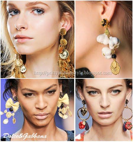 Обеци Dolce&Gabbana