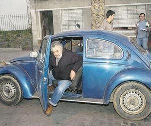 سيارة أفقر رئيس دولة فى العالم