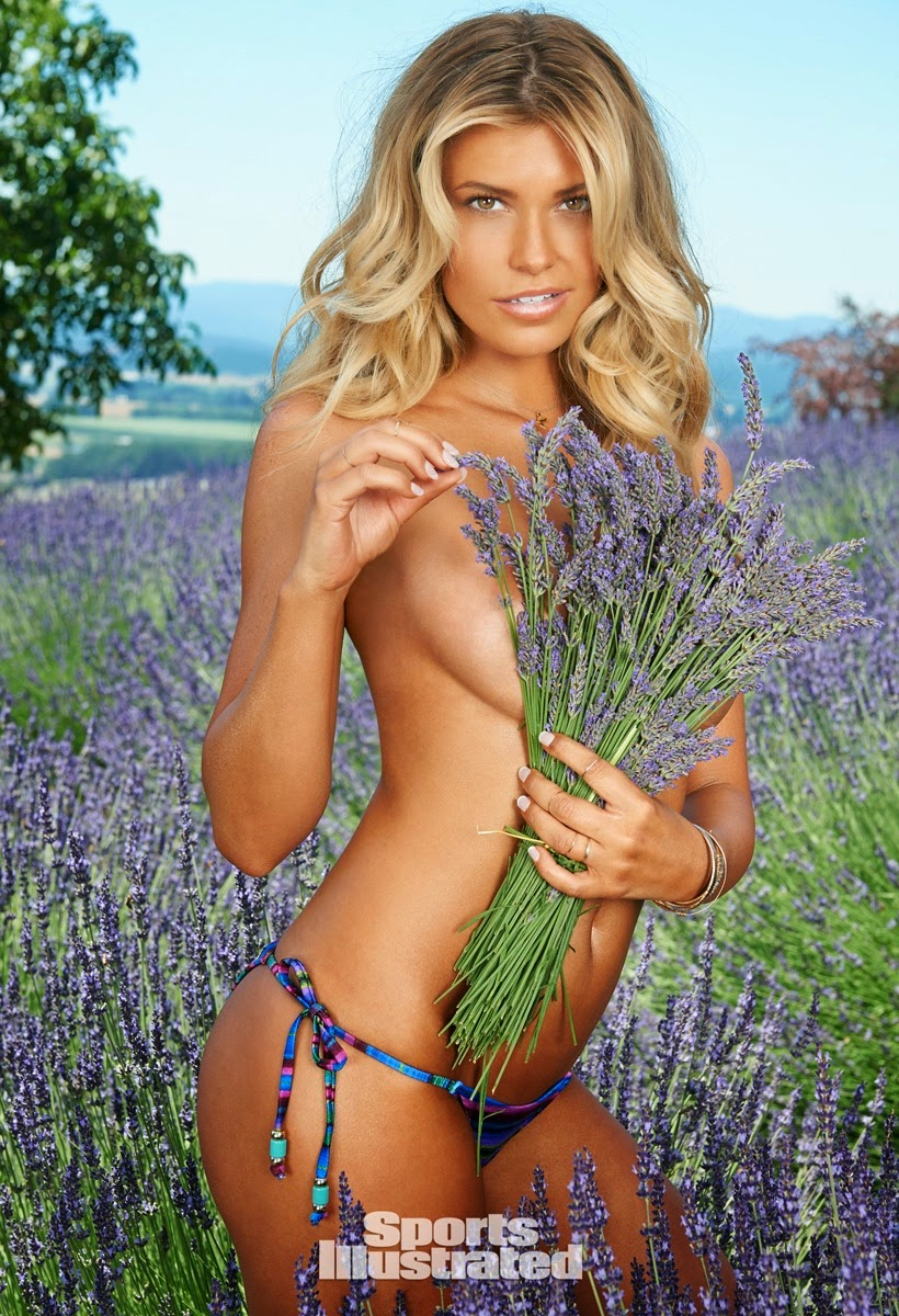 Samantha Hoopes poses in Oregon for the Sports Illustrated Swim 2015 edition