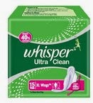 Amazon: Buy Whisper Maxi Fit Regular 15 Pads at Onlline Lowest Best Price Offer Rs. 99 only