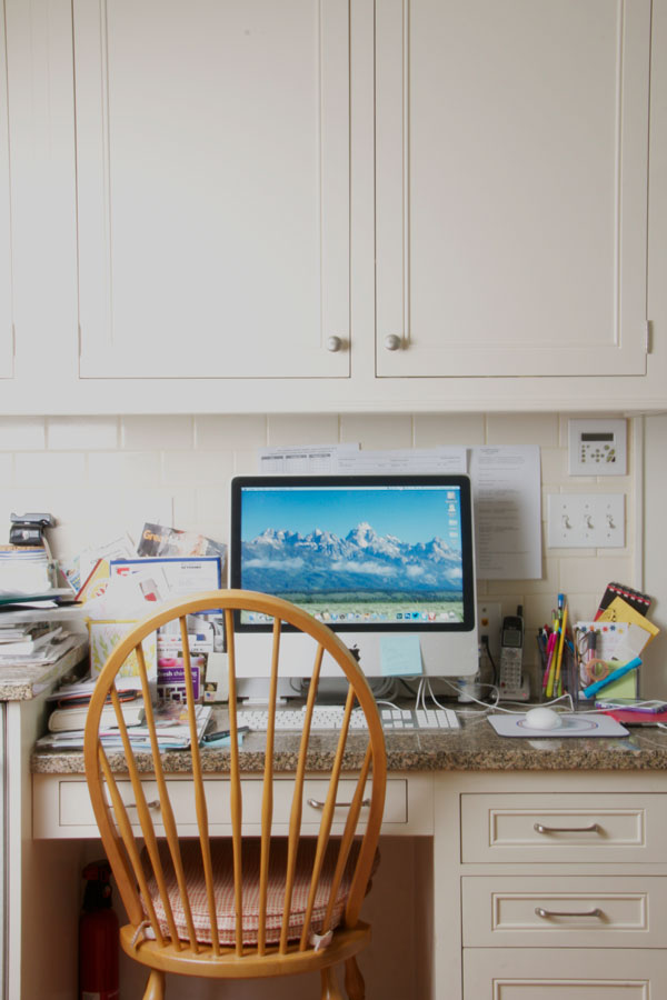 Kitchen Desk Clean Up (1) | Ridgely's Radar