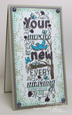 ODBD Your Mercies, ODBD Belles Vignes, Card Designer Angie Crockett