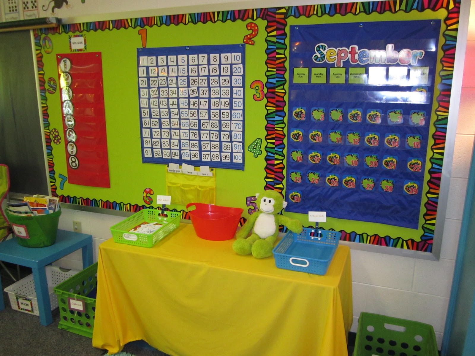 Classroom Design Page ~ What happens in first grade classroom photo tour