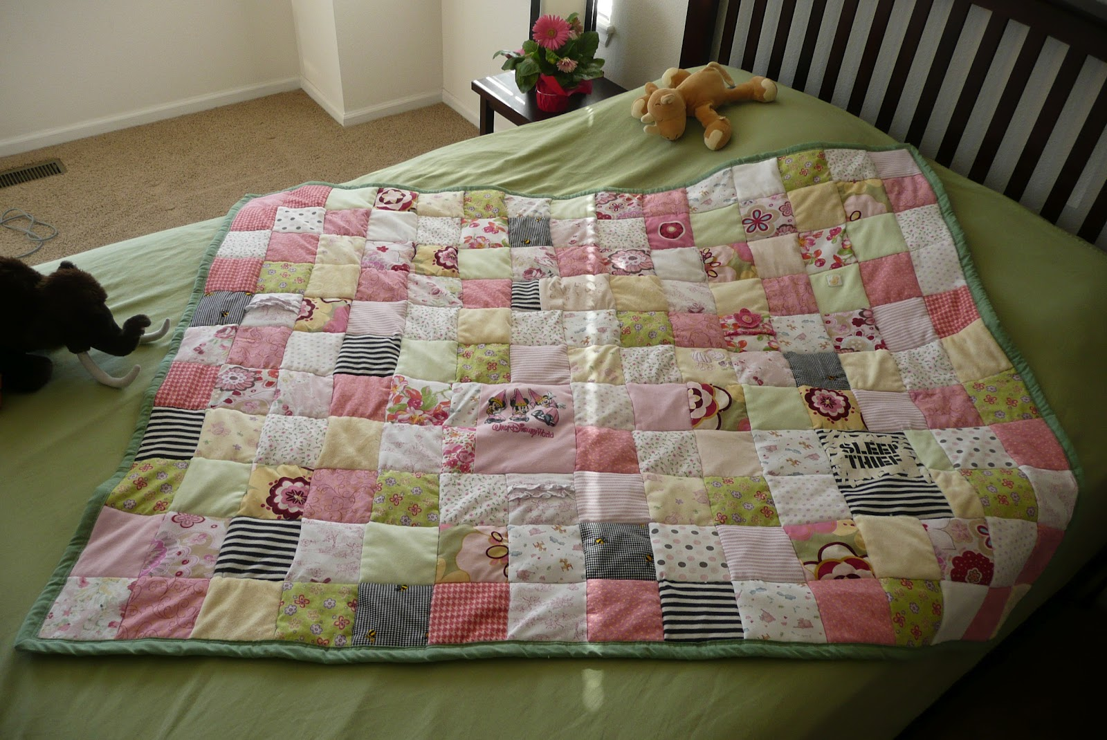 Keepsake Memory Blankets from Baby Clothes