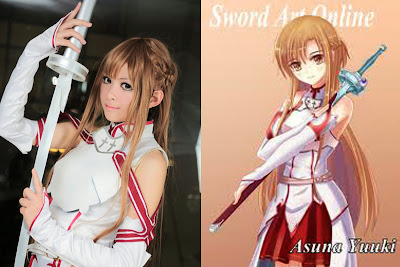 Foto Cosplay Asuna Sword Art Online 03