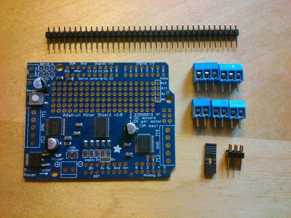 Adafruit Motor Shield Kit V2 0 Vanceance