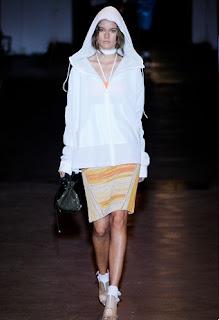 Rag & Bone hoodie and pencil skirt