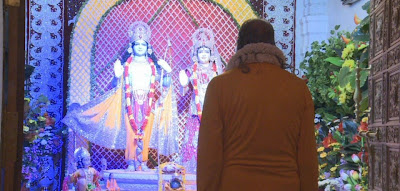 Jagadguru Kripalu Maharaj offering respects to Shree Ram on Ram Navmi 2013