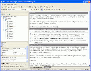 Visual CertExam Suite 3.1.1