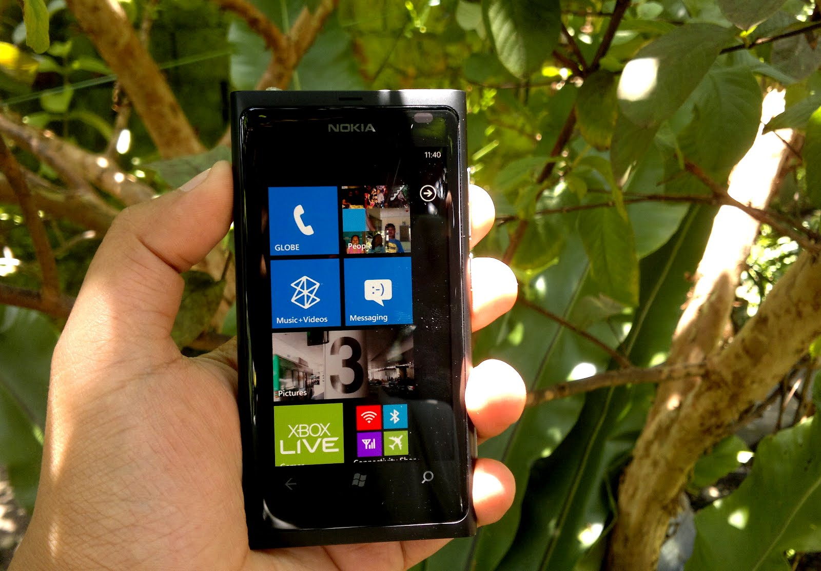 Conversations with Nokia Lumia 800, First Take
