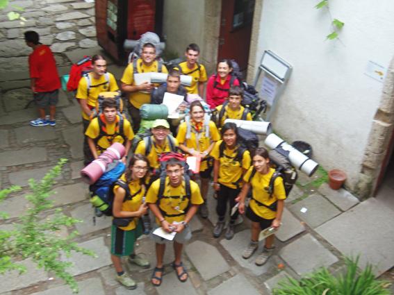 Unidad tagua cumpliendo nuestra misi n oficina del for Oficina del peregrino