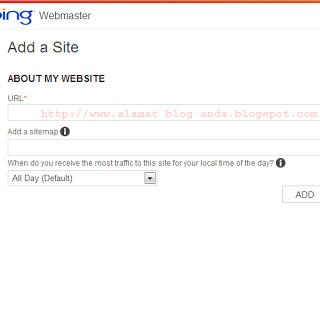 cara pasang meta bing di blog