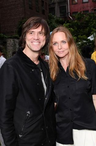 Jim Carey and Stella McCartney