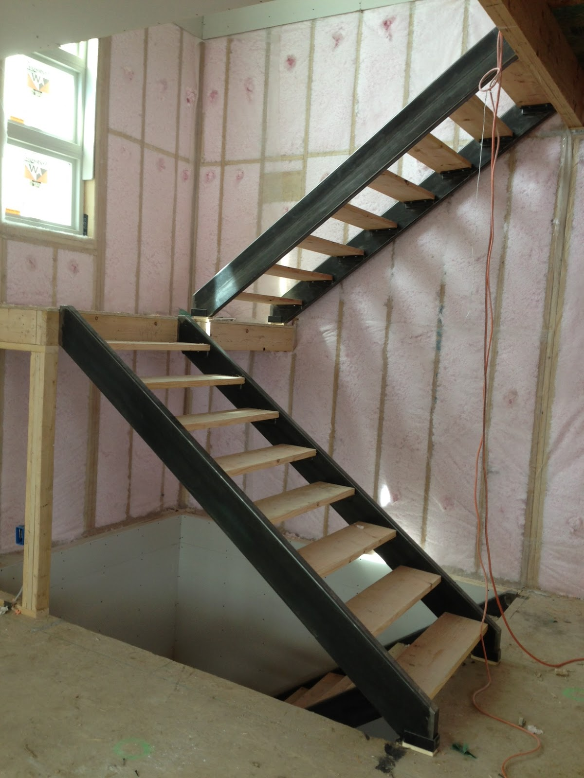 Pale Horse Fabrication Custom Stair Stringer In Denver Home