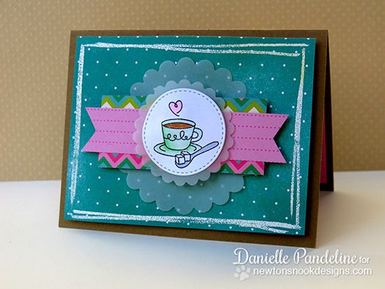 Sugar card by Danielle Pandeline for Newton's Nook Designs