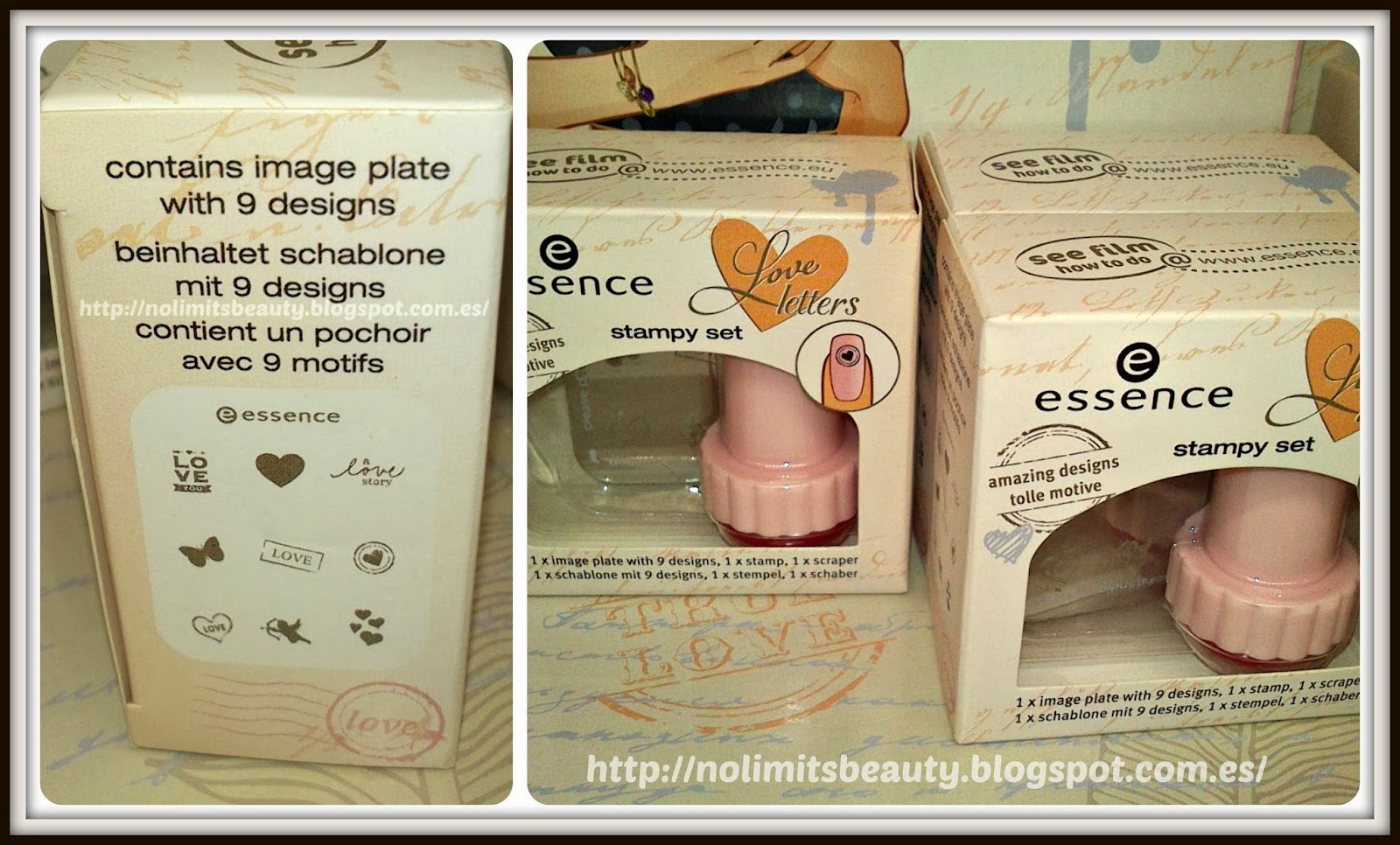 Essence Love Letters: Stampy Kit
